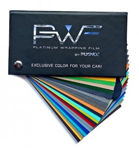 Wzornik - PWF Platinum Wrapping Film